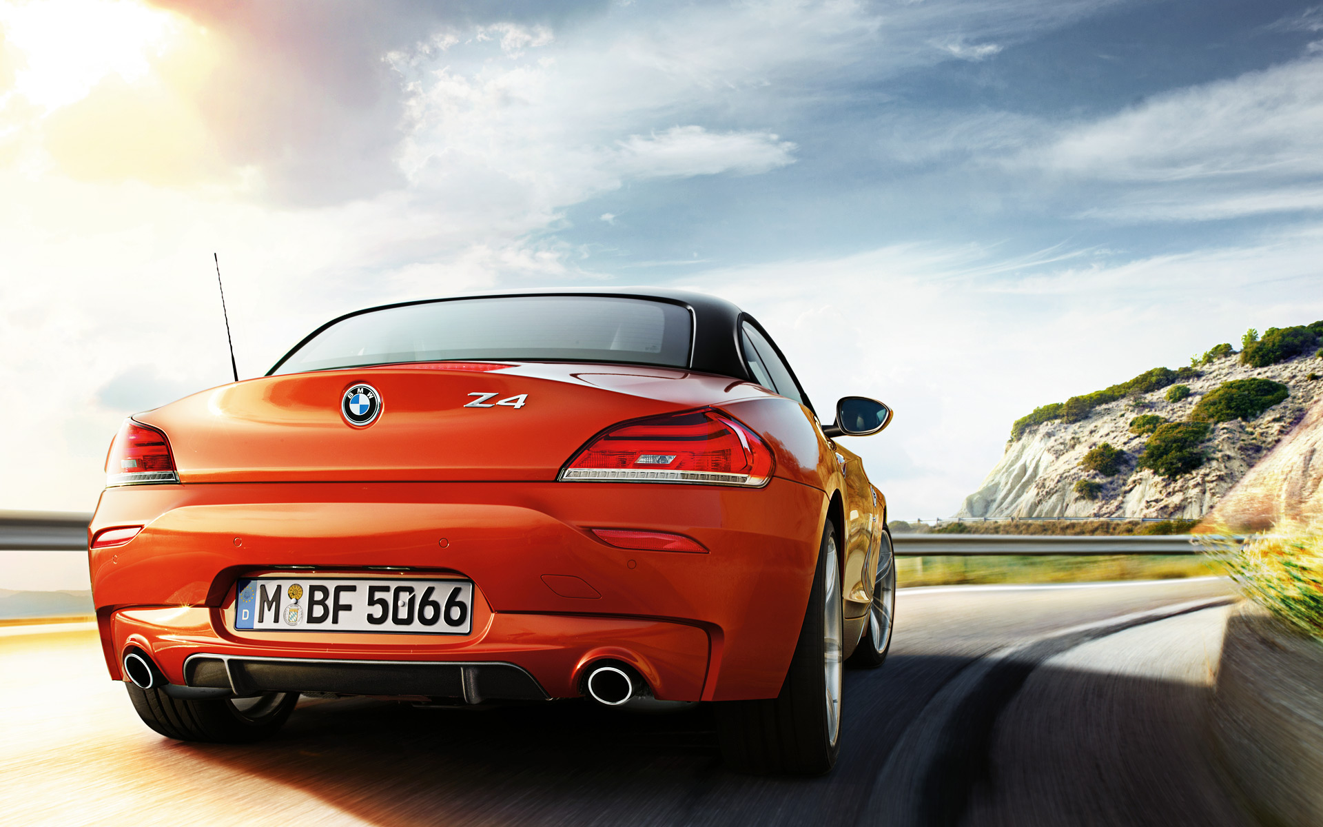 Wallpapers 2013 Bmw Z4 Facelift In Valencia Orange