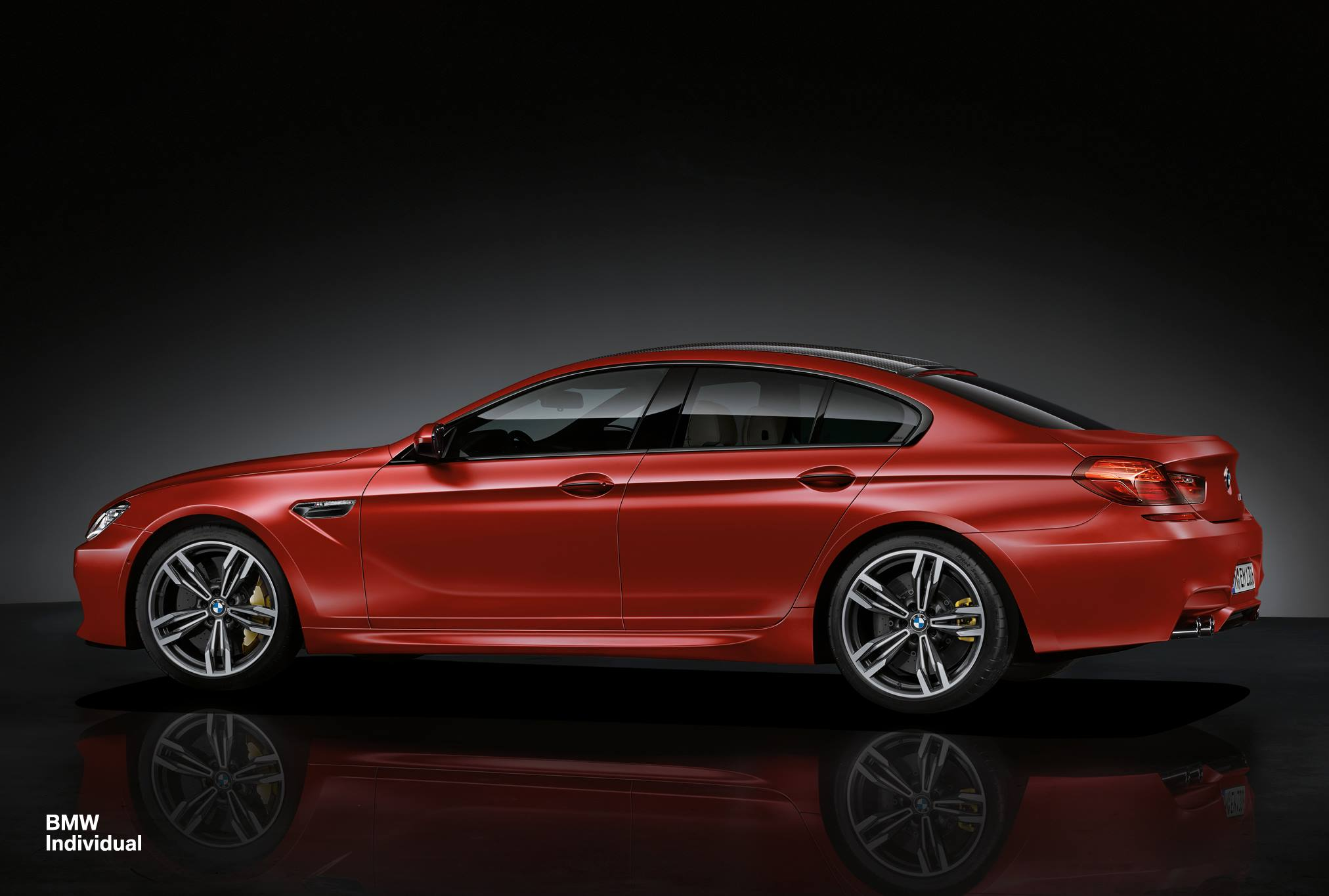 Bmw Individual Bmw 6 Series Gran Coupe In Frozen Red