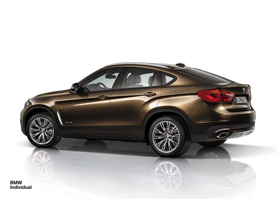 2015 Bmw X6 Individual In Pyrite Brown