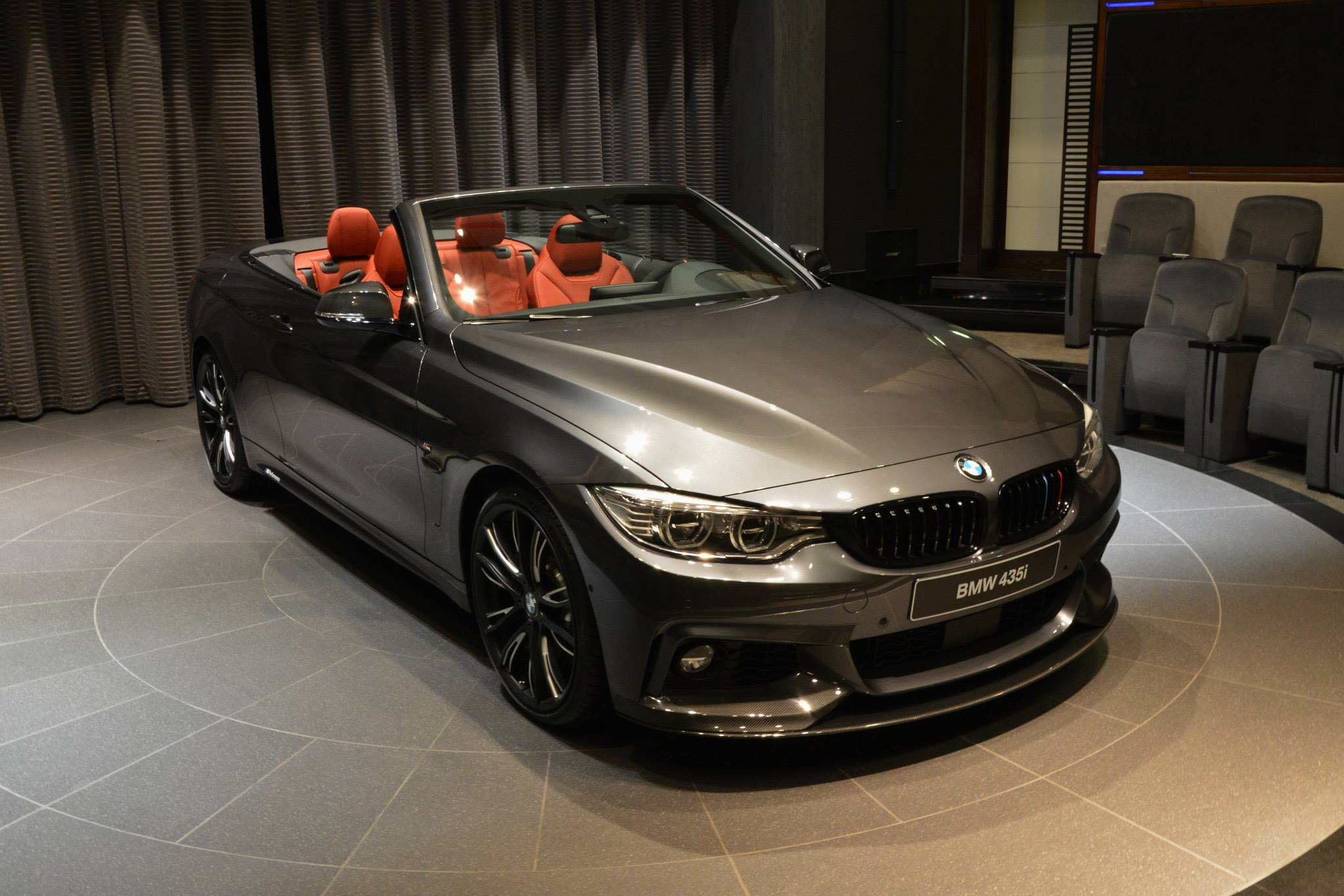 Bmw 435i Convertible With M Performance Parts