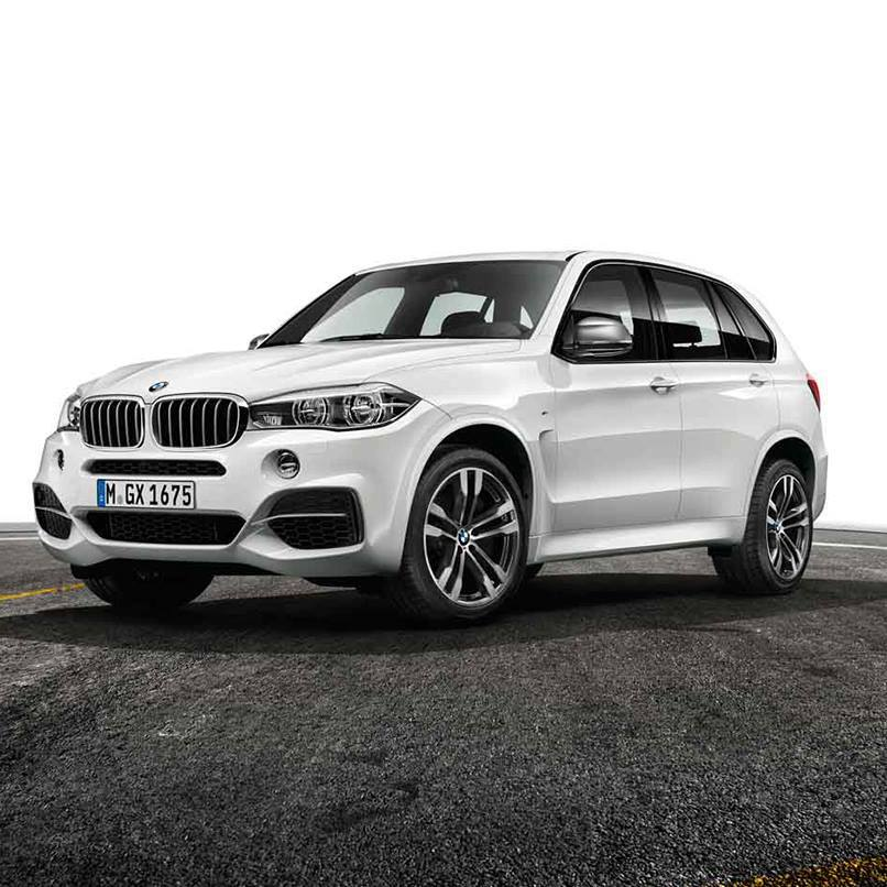The New BMW X5 M50d