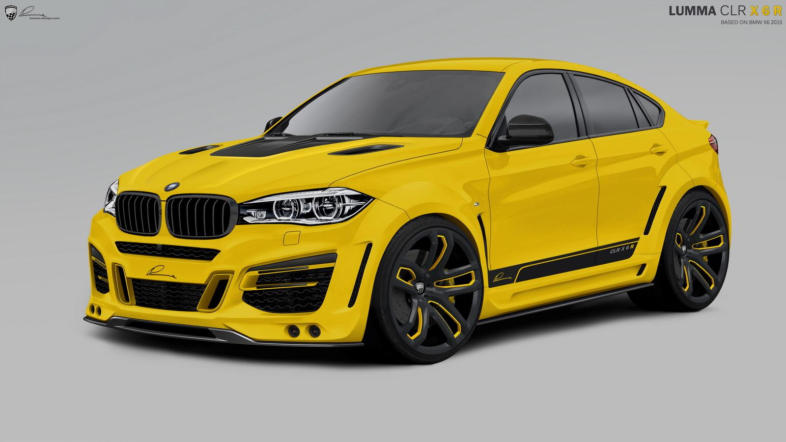 2015 Bmw X6 Tuning Program By Lumma Design