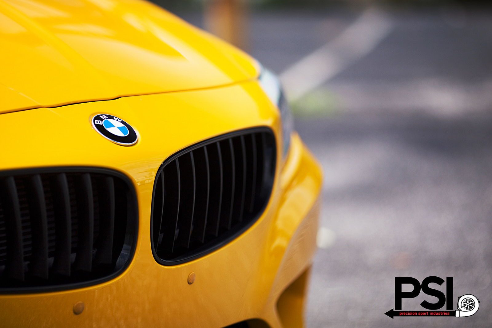 Bmw Z4 In Atacama Yellow By Psi