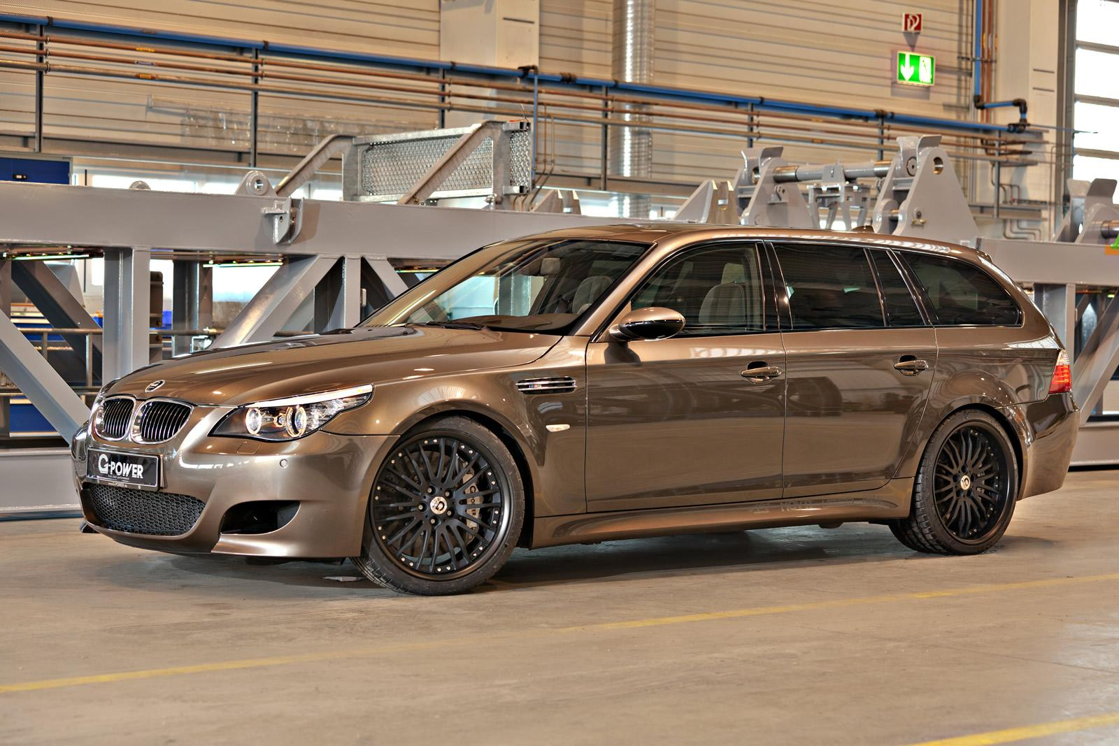 G Power Reveals 820 Hp Bmw M5 Hurricane Rr Touring