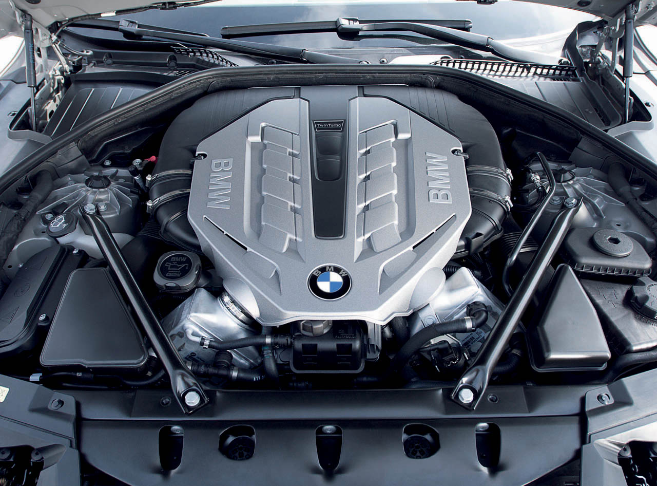 2009 bmw 7 series engine