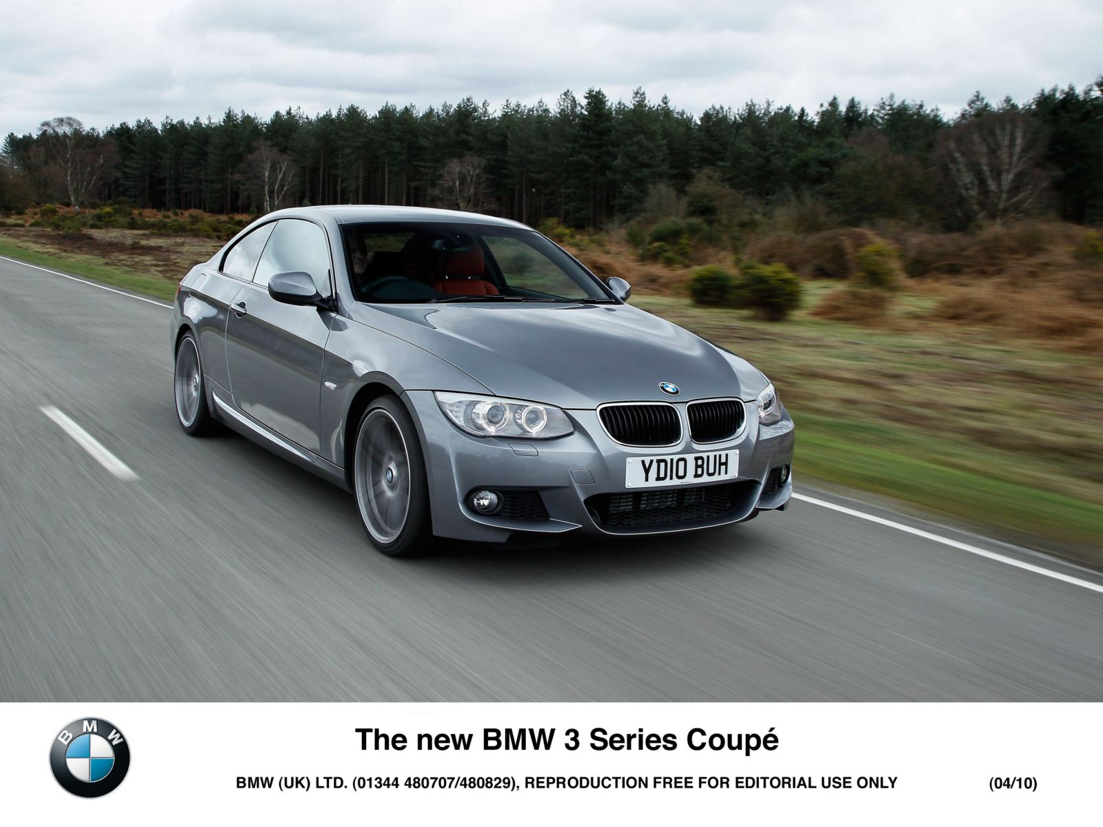 new wallpapers: 2010 bmw 3 series coupe facelift