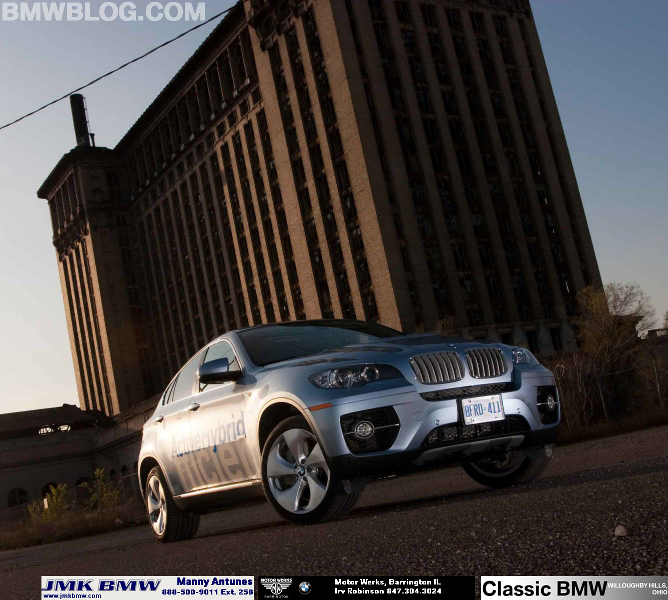 Bmw X6 Price In Germany: BMW Celebrates 100,000 Units Sold Worldwide