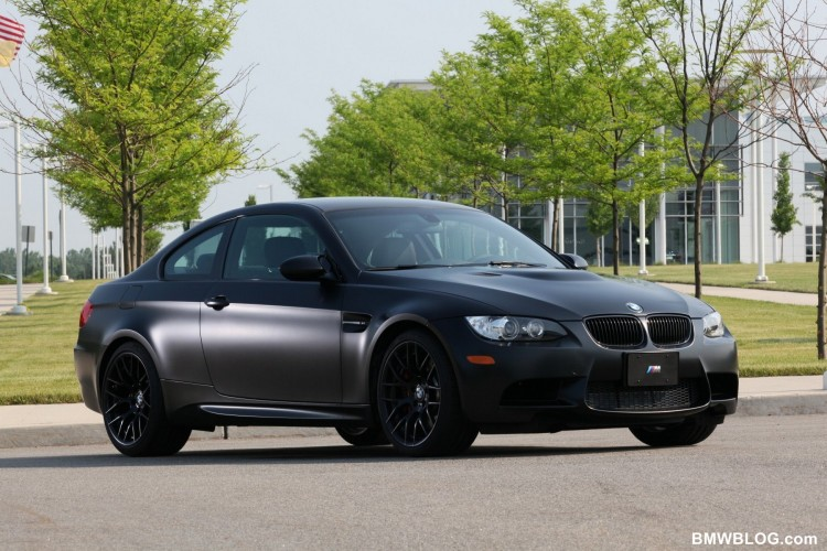 2011 BMW Frozen Black Edition M3 Coupe 03 750x500