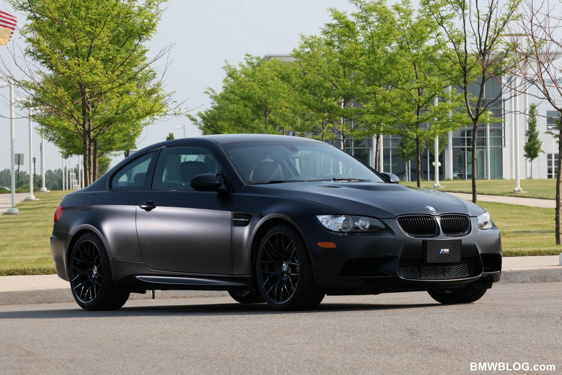 2011 BMW Frozen Black Edition M3 Coupe 03