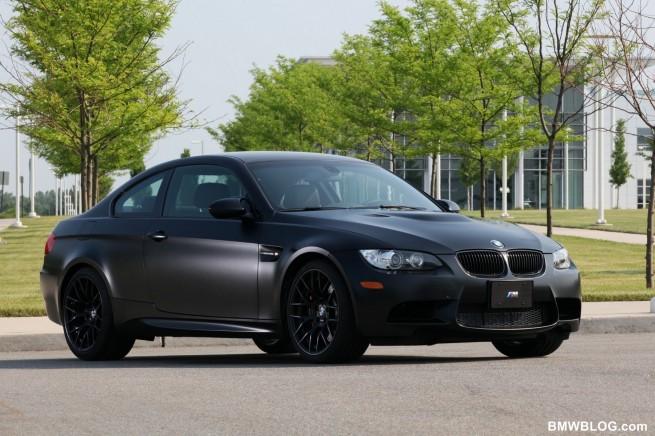 2011 BMW Frozen Black Edition M3 Coupe 05 655x436