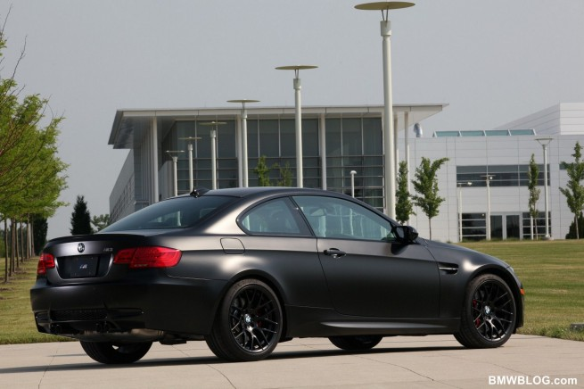 2011 BMW Frozen Black Edition M3 Coupe 06 655x436