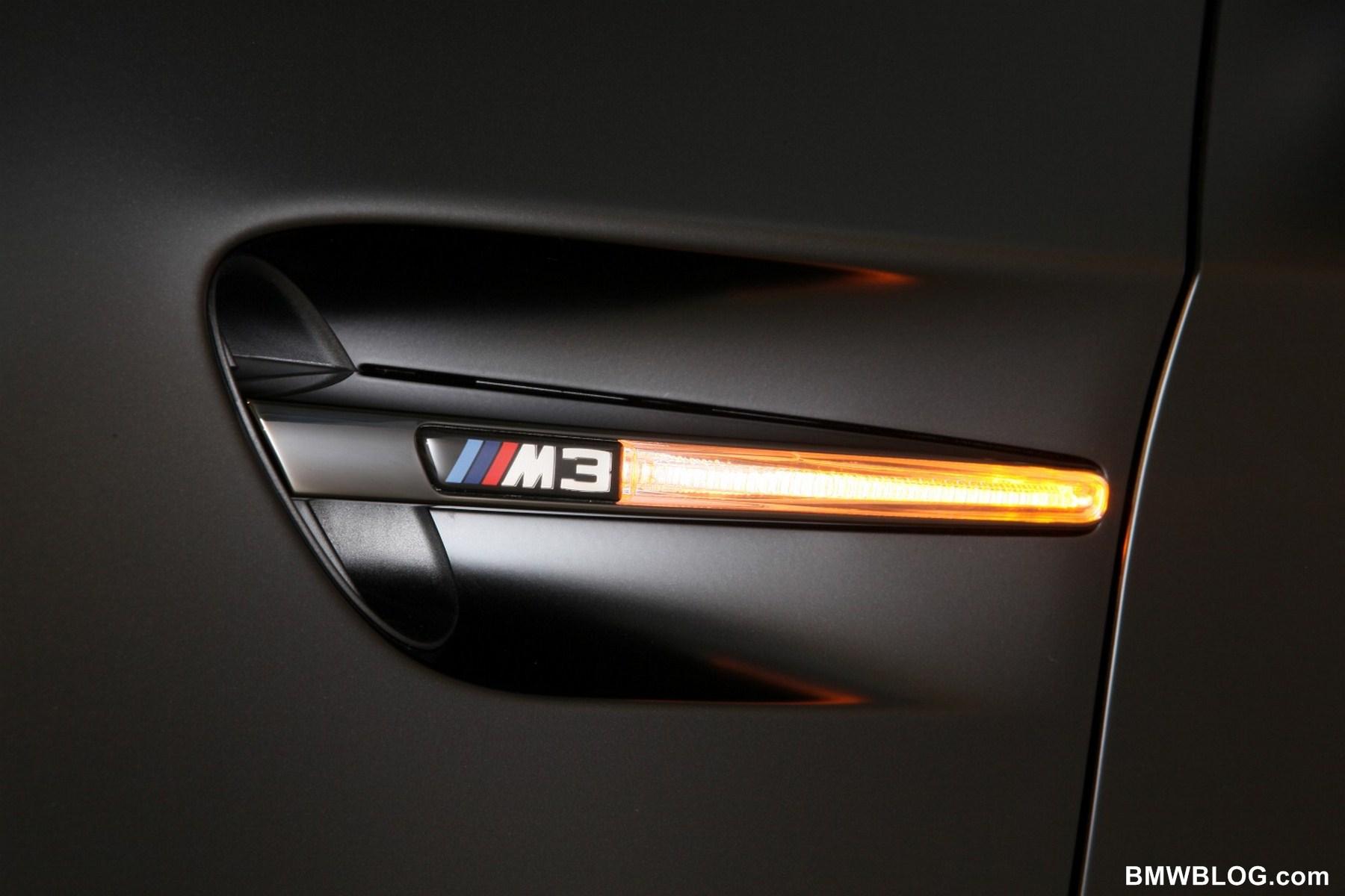 2011 BMW Frozen Black Edition M3 Coupe 13