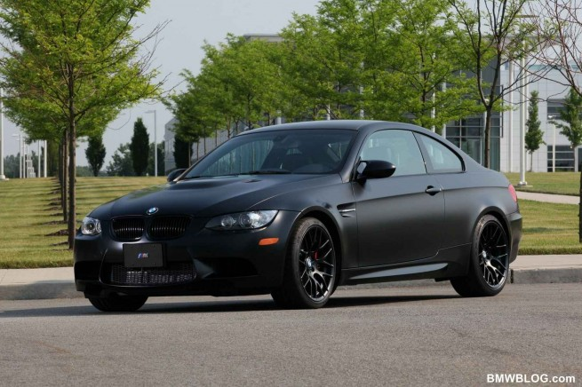 2011 BMW Frozen Black Edition M3 Coupe 232 655x436