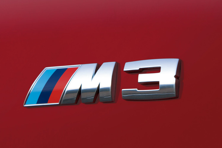 2011 BMW M3 Coupe Badge 750x500