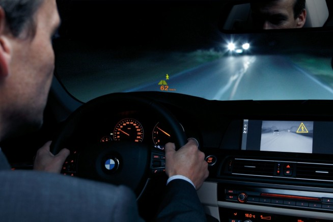 night vision BMW 5 Series