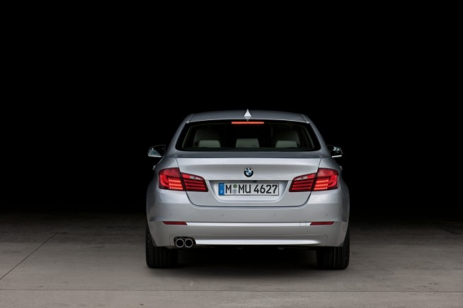 BMW 5 Series rear end