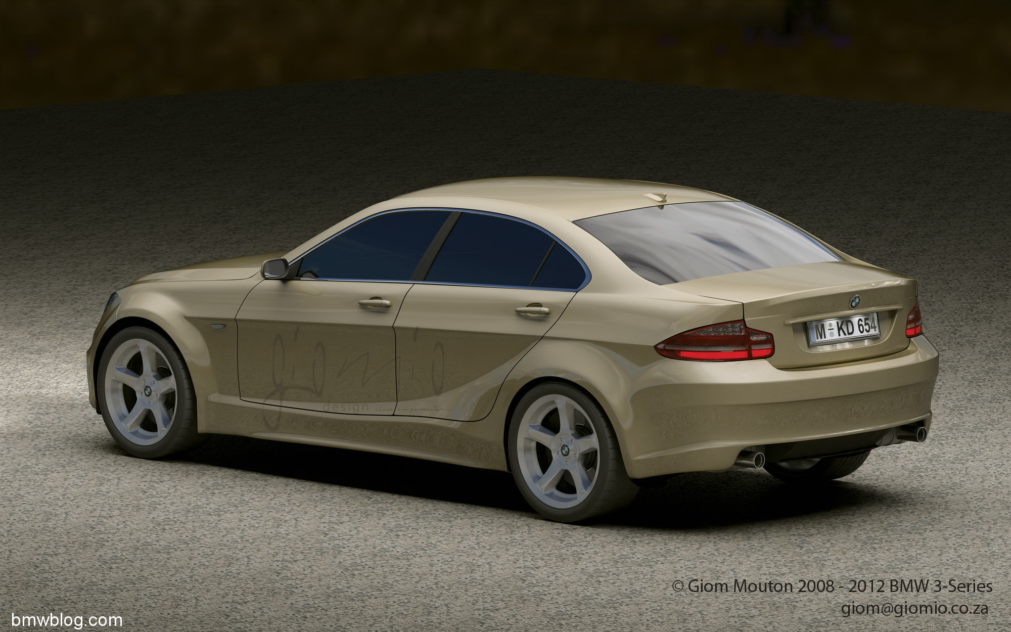 Renderings 2012 Bmw 3 Series