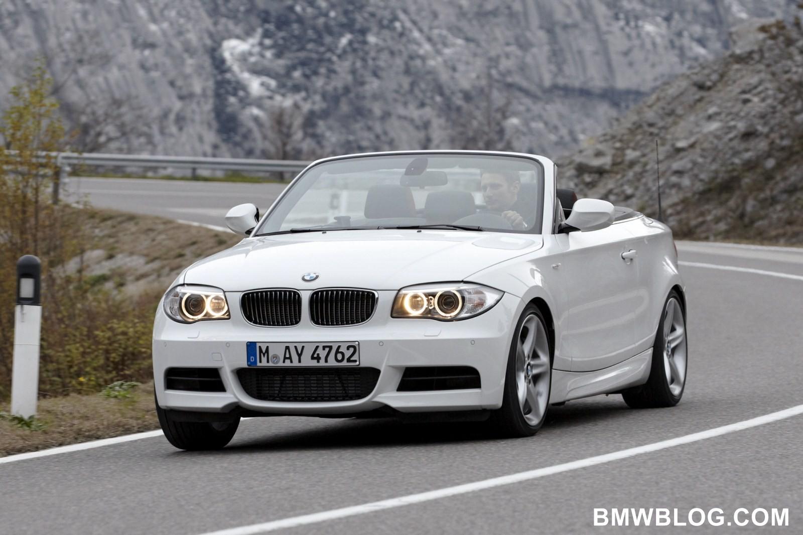Bmw 128I Convertible >> World Debut: 2012 BMW 1 Series Convertible