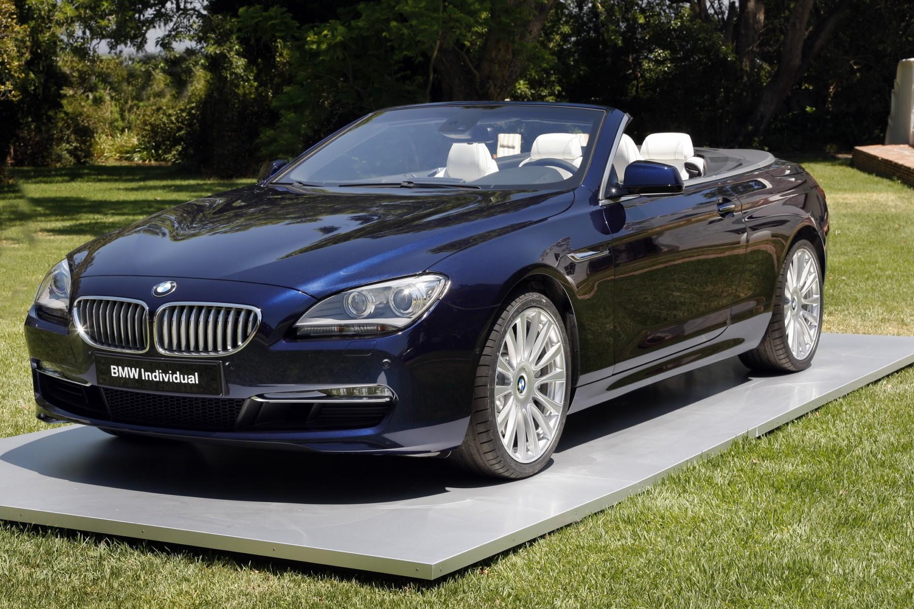 2012 bmw 6 series convertible individual. Black Bedroom Furniture Sets. Home Design Ideas