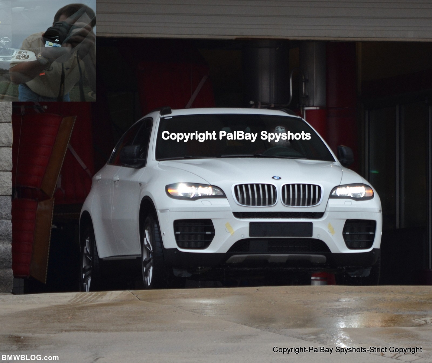 Spy Photos: 2013 BMW X6 Facelift