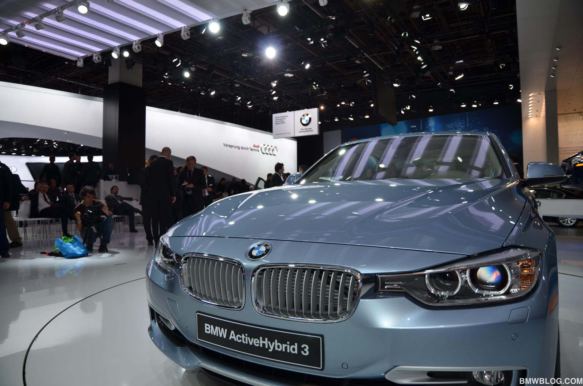 Detroit Auto Show BMW ActiveHybrid - Bmw car show