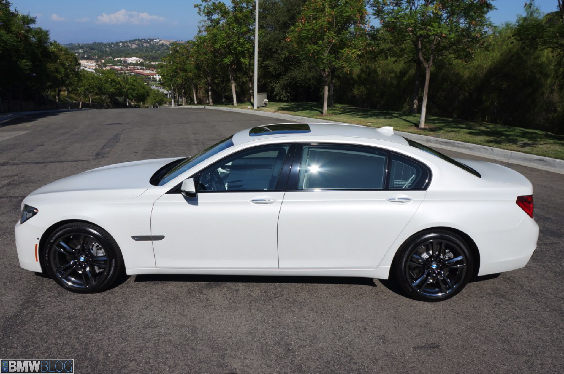 2013 Bmw 750li M Sport Painted In Frozen Brilliant White Matte
