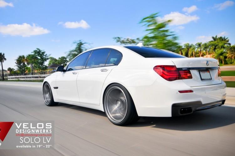 2013 BMW 750i Velos Designwerks 22 Solo LV Wheels 06 750x500