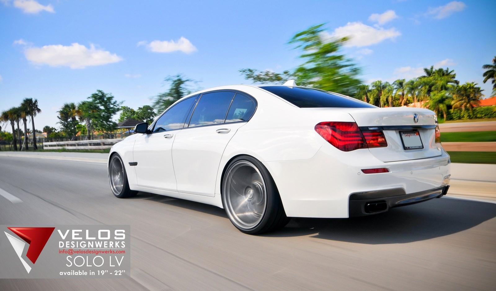 2013 Bmw 750i On Velos Designwerks 22 Quot Solo Lv Wheels