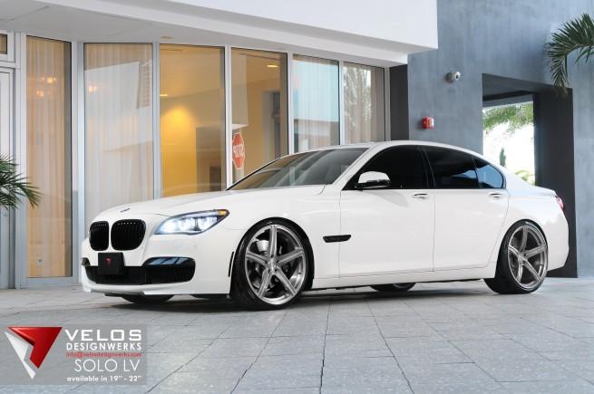 2013 BMW 750i Velos Designwerks 22 Solo LV Wheels 12 655x435