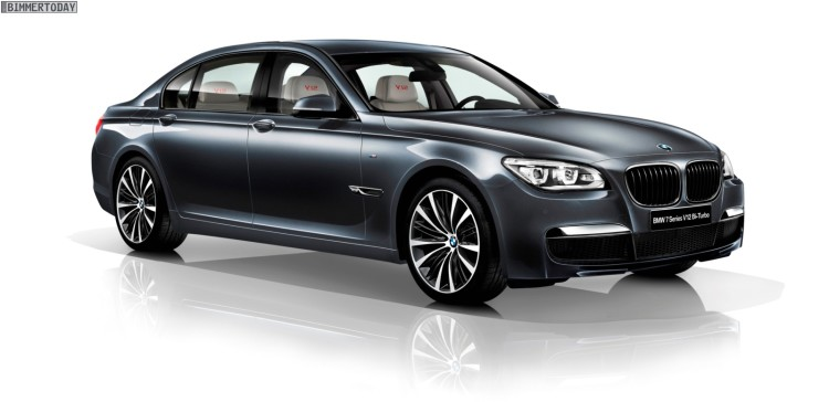 2013 BMW 7er V12 Biturbo Sondermodell Japan 760i 760Li F01 F02 01 750x364