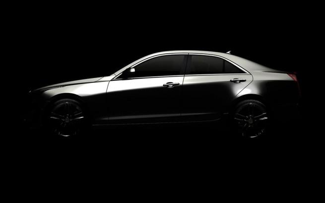 2013 Cadillac ATS profile teaser1 655x409