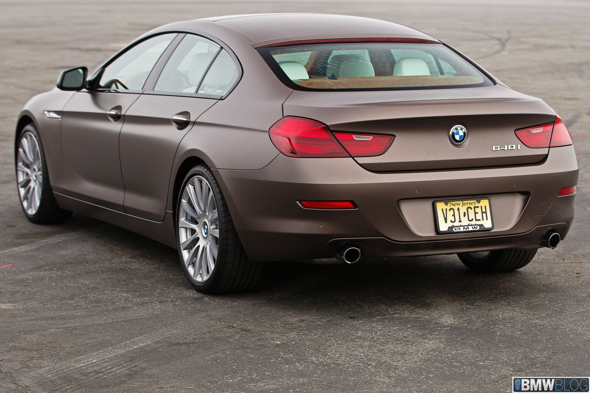 Bmw 650i Gran Coupe Review The Slant Back 5
