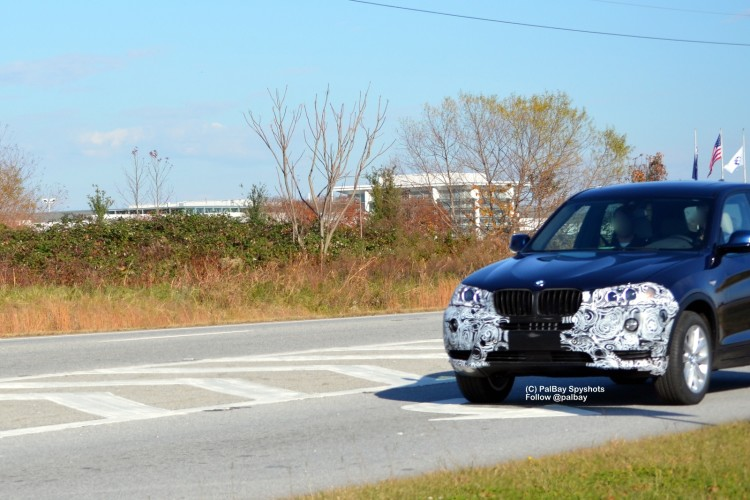 2013 bmw x3 facelift 02 750x500