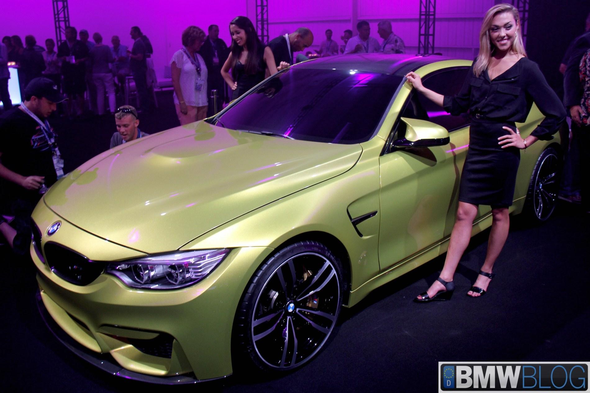 BMW Concept M4 Coupe unveiled at Oktoberfest BMWCCA