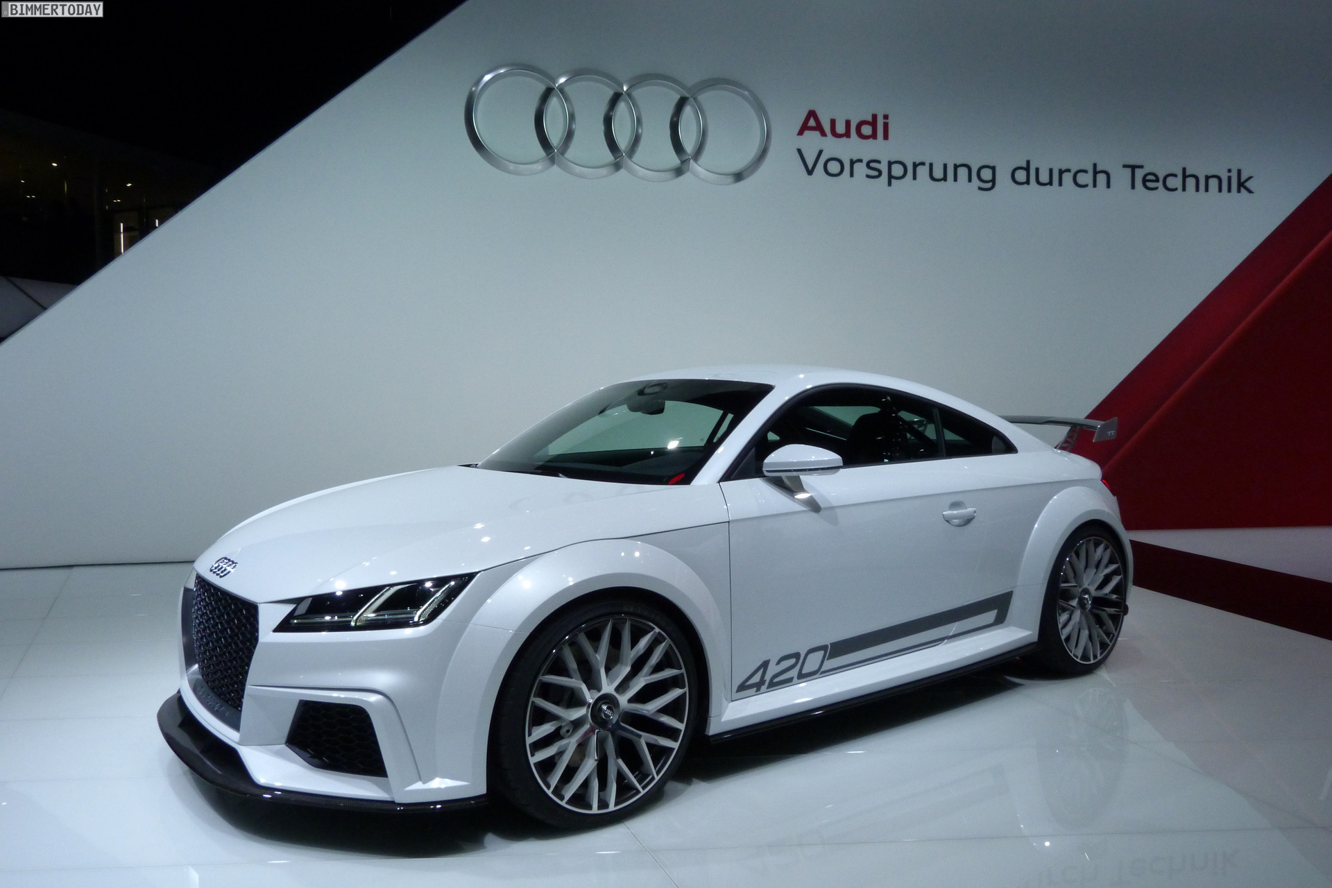 2014 geneva motor show audi unveils edgier new tt tts. Black Bedroom Furniture Sets. Home Design Ideas