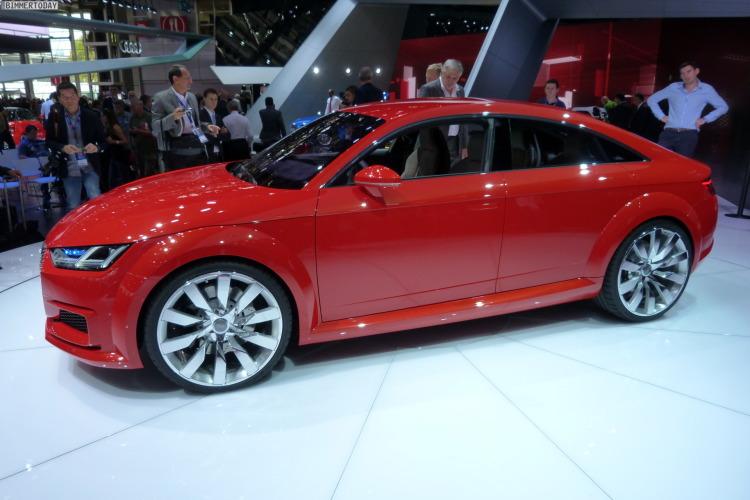 2014 Audi TT Sportback Concept Autosalon Paris LIVE 16 750x500