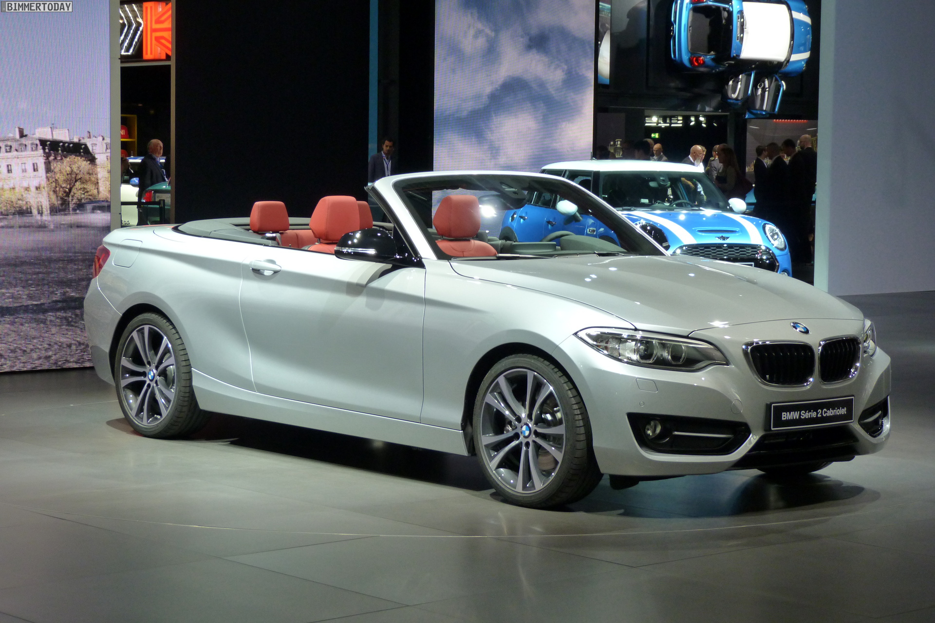 2014 Paris Motor Show Bmw 2 Series Convertible World Debut