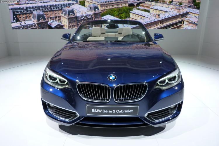 2014 BMW 2er Cabrio F23 220d Tiefseeblau Luxury Line Weltpremiere Paris LIVE 03 750x500