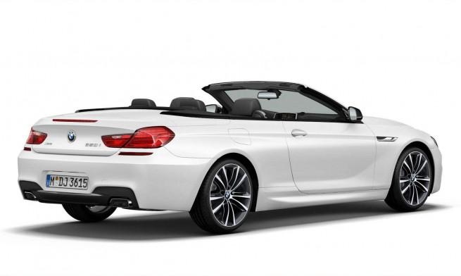 2014 BMW 6 Series Convertible Frozen Brilliant White Edition 1 655x392
