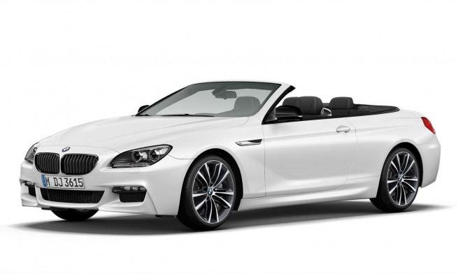 2014 BMW 6 Series Convertible Frozen Brilliant White Edition 655x392