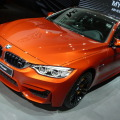2014 BMW M4 Coupe F82 Sakhir Orange Autosalon Paris LIVE 01 120x120