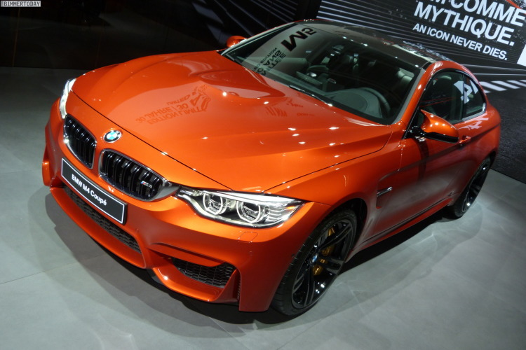 2014 BMW M4 Coupe F82 Sakhir Orange Autosalon Paris LIVE 01 750x500