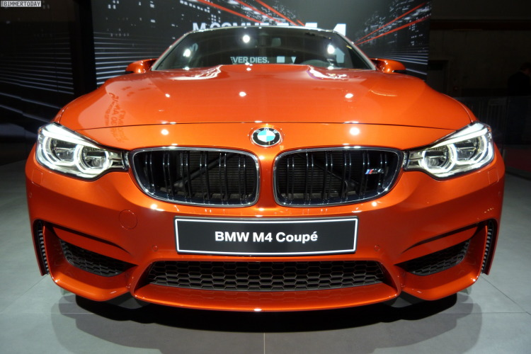 2014 BMW M4 Coupe F82 Sakhir Orange Autosalon Paris LIVE 18 750x500