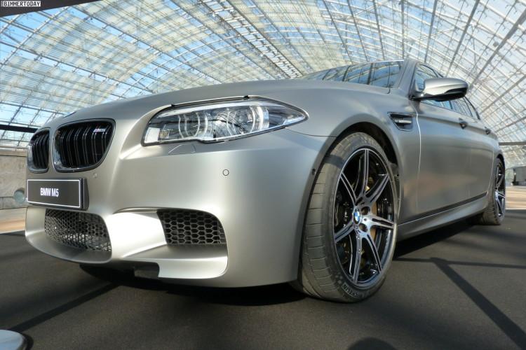 2014 BMW M5 F10 30 Jahre Sondermodell Frozen Dark Silver AMI Leipzig LIVE 01 750x500