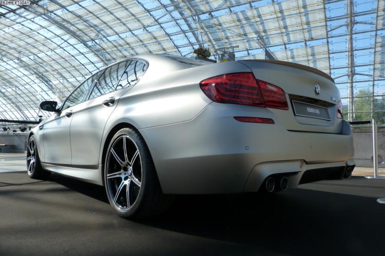 2014 BMW M5 F10 30 Jahre Sondermodell Frozen Dark Silver AMI Leipzig LIVE 02 750x500