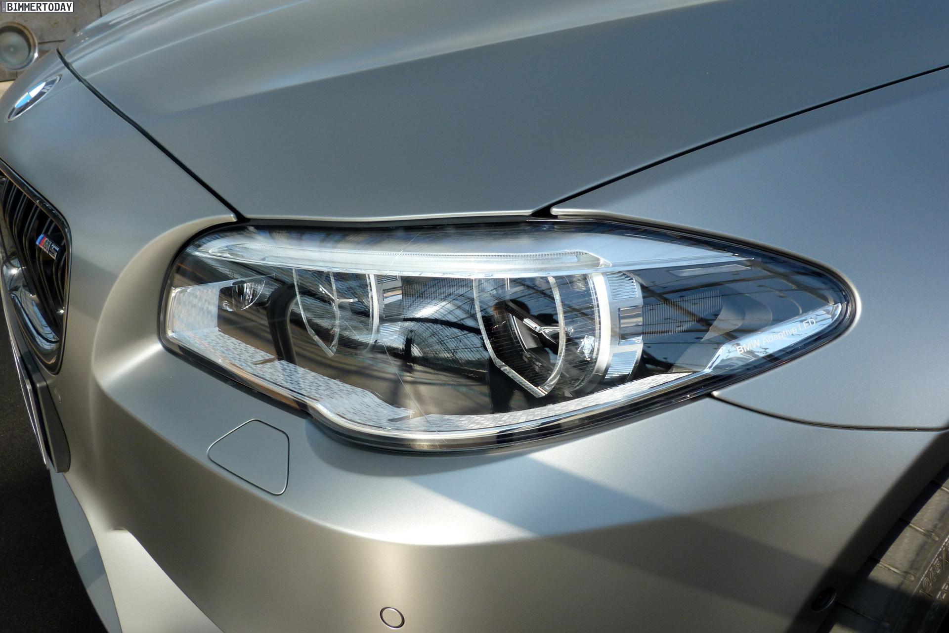 2014 BMW M5 F10 30 Jahre Sondermodell Frozen Dark Silver AMI Leipzig LIVE 30
