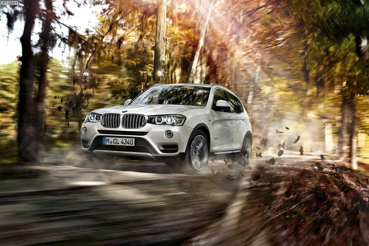 2014 BMW X3 Facelift F25 LCI Wallpaper 1920 x 1200 04 750x500