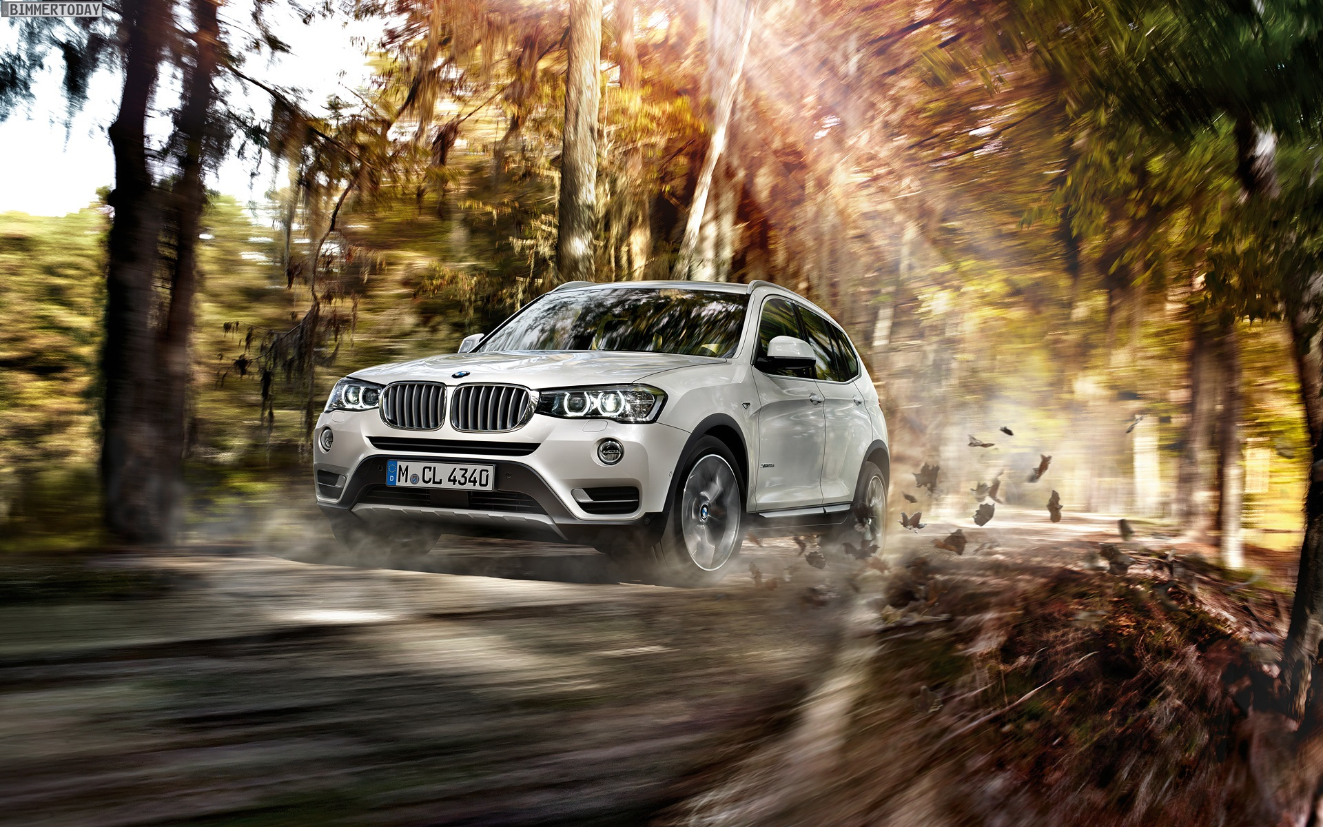 2014 BMW X3 Facelift F25 LCI Wallpaper 1920 x 1200 04