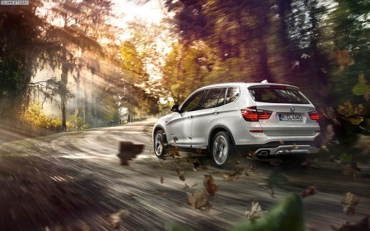 2014 BMW X3 Facelift F25 LCI Wallpaper 1920 x 1200 06 750x468