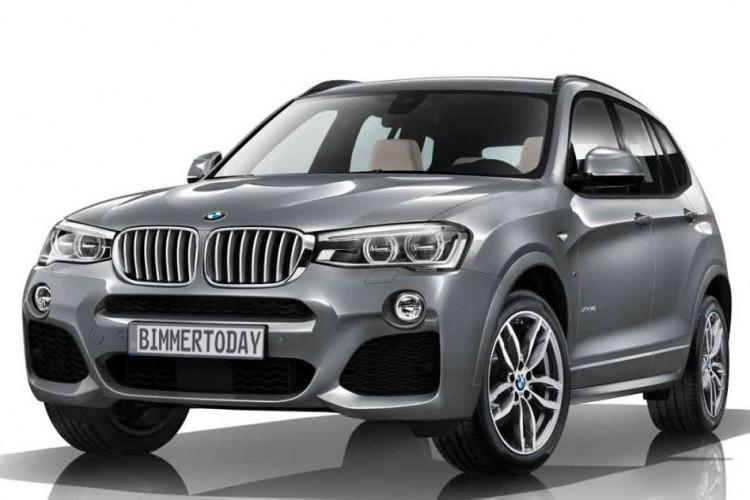 2014 BMW X3 M Sportpaket Facelift F25 LCI M Paket 750x500